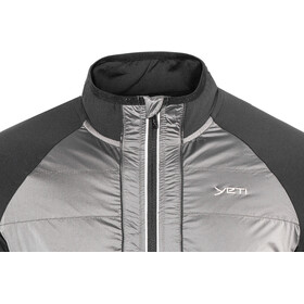 Yeti M's Mallow Full Windshield Jacket black/gull grey